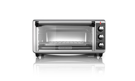 Black And Decker 8 Slice Extra Wide Convection Toaster Oven Under $100